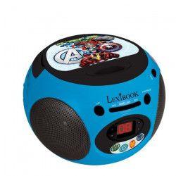 LEXIBOOK -AVENGERS - Lecteur CD & Radio Enfant