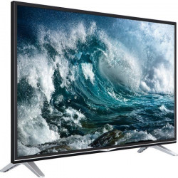 HAIER LEU55V300S TV LED 4K UHD 140 cm (55`) - Smart TV - 3 x HDMI - Classe énergétique A+