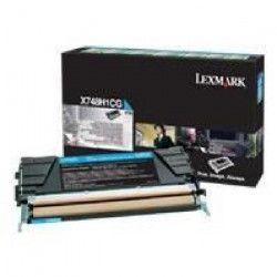 LEXMARK Cartouche de toner - X748 - 10.000 pages - Pack de 1 - Cyan