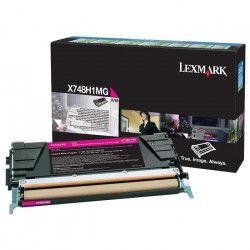 LEXMARK - 1 Cartouche de toner - X748 10K - 10 000 pages - Magenta