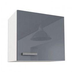 START Meuble haut de cuisine L 60 cm - Gris Brillant