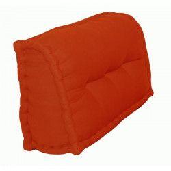Dossier Cale-Reins 100% coton 60x22/11xH35 cm TERRACOTTA