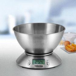 TRISTAR Balance de cuisine avec bol - KW-2436 - 2,5 L - Inox