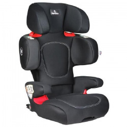 RENOLUX Renofix Isofix Réhausseur Groupe 2/3 - Total Black