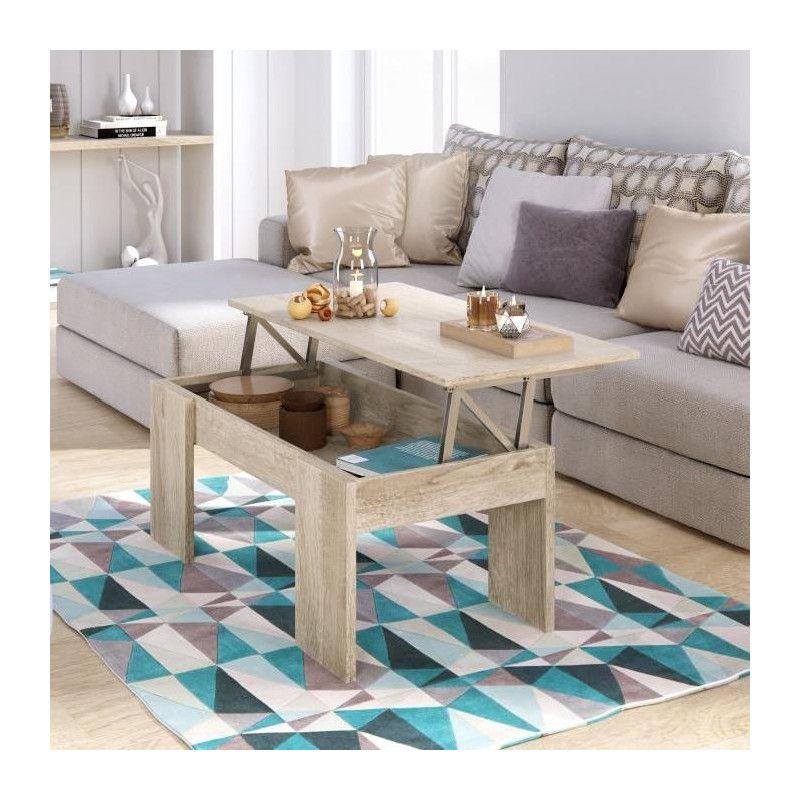 swing table basse relevable style contemporain d cor. Black Bedroom Furniture Sets. Home Design Ideas