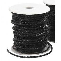 POLYROPES Cordage Polyester Proline Noir 12mm 35m