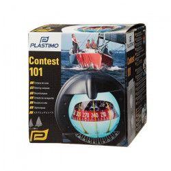 PLASTIMO Compas Contest 101 - Rose rouge - Zone ABC - Noir