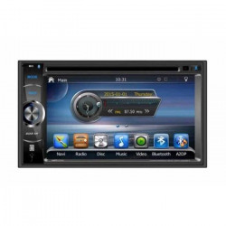 TAKARA GPV1826BT Autoradio 2DIN DVD GPS USB Bluetooth 6,2` - autoradio double din