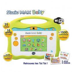 VTECH Baby - Console Storio Max 5` - Tablette Éducative Enfant 5 Pouces - Tut Tut Aventures