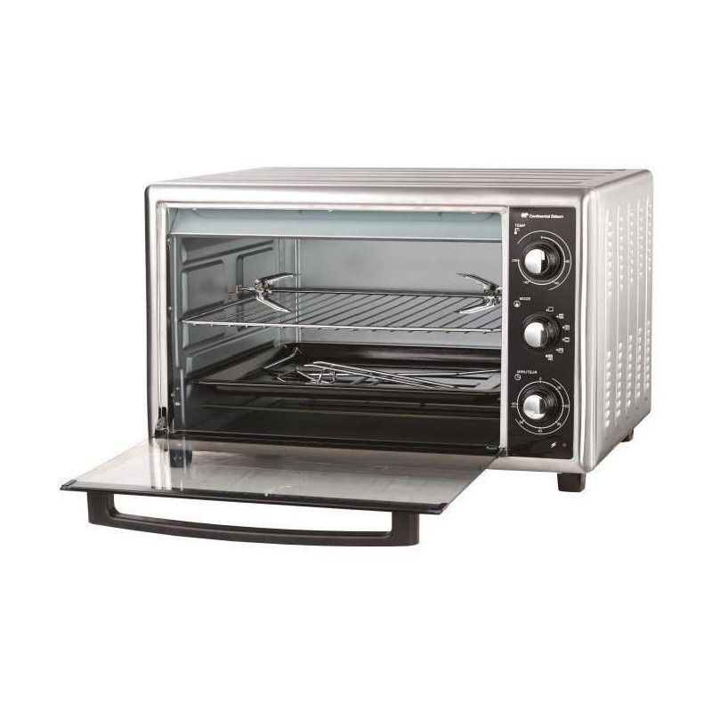 continental edison cemf53bs mini four grill 53 l. Black Bedroom Furniture Sets. Home Design Ideas