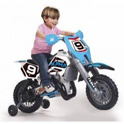 FEBER Moto Electrique Enfant Cross Alpha 6 Volts 14 Pouces