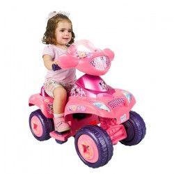 FEBER - Quad Minnie Rose - Véhicule Electrique pour Enfant 6 Volts