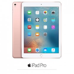 Apple iPad Pro Cellulaire - MLYL2NF/A - 9.7'' - iOS 9 - A9X 64 bits - ROM 128Go - WiFi/Bluetooth/4G - Rose Gold