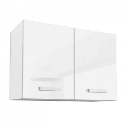 START Meuble haut de cuisine L 80 cm - Blanc Brillant