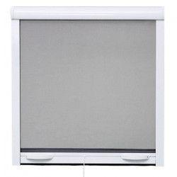 Moustiquaire enroulable en aluminium pour fenetre - H170 x L160 cm