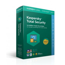 KASPERSKY Total Security 2018 (5 postes - 2 ans)
