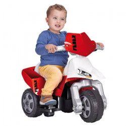 FEBER - Moto Trimoto Neon - Véhicule Electrique pour Enfant 6 Volts