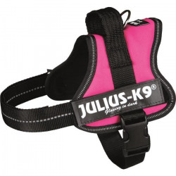 Harnais Power Julius-K9 - Mini - M : 51-67 cm-28 mm - Fuchsia - Pour chien