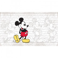 ROOMMATES Stickers DISNEY MICKEY MOUSE repositionnable 152x91cm