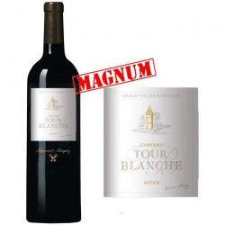 Magnum Château Bernard Magrez Tour Blanche 2013 Médoc - Vin rouge de Bordeaux