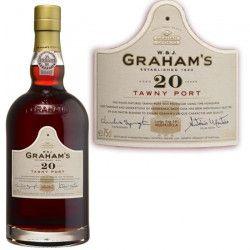 Porto Graham`s tawny 20 ans 75cl 20°