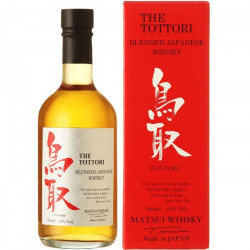 Tottori Whisky Japonais Blended 43% 50 cl