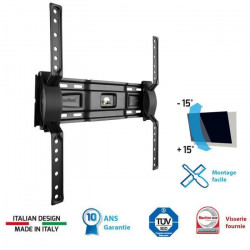 MELICONI 400 ST Support TV mural inclinable Slim 4