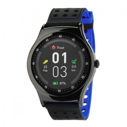 WEE`PLUG Montre sport connectée Smartfit cardio - Bleutooth - Bleu