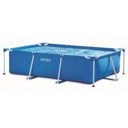 INTEX Kit piscine rectangulaire tubulaire - 300 x 200 x 75 cm