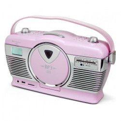 SOUDMASTER RCD1350PI Radio FM avec lecteur de CD vertical