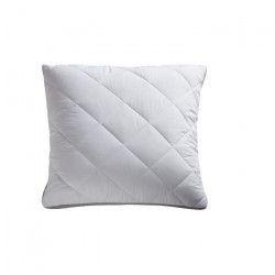 BULTEX Oreiller Supersoft Night déhoussable 60x60 cm blanc et anthracite