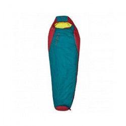 COLUMBUS Sac de couchage Misti 300 -Vert et rouge
