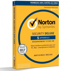 NORTON SECURITY 2018 DELUXE 5 Apps