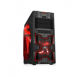 Spirit of Gamer Boîtier PC X-FIGHTERS 41 Red Victory Fenetre