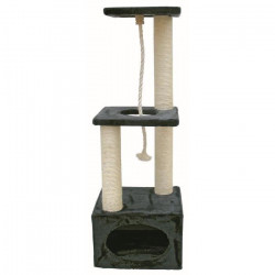 KERBL Arbre a gratter Platin Pro 37x37x109cm - Anthracite - Pour chat