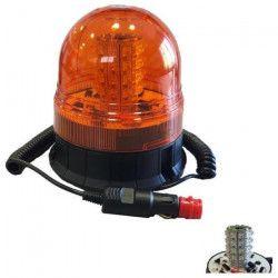 JBM Gyrophare 6 Fonctions a LED Magnétique