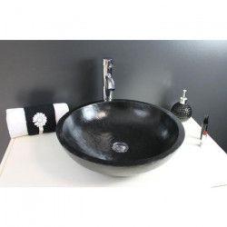 Vasque en terrazzo Heloise noir