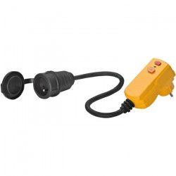 BRENNENSTUHL Adaptateur 0.5m H07RN-F 3G1.5 fiche 10mA rallonge 16A/230v
