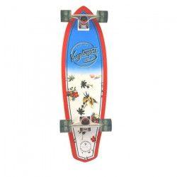 KRYPTONICS Skateboard Mini Longboard Maui Patt 32``