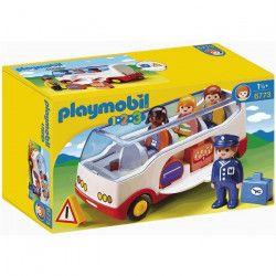 PLAYMOBIL 1.2.3. - 6773 - Autocar De Voyage