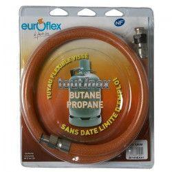 BRASERO TYPE TFEM GPL INOX 100 Flexible NF inox butane/propane ? 1 metre