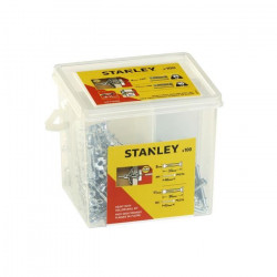 STANLEY Seau de 100 chevilles avec vis STF71020X-XJ