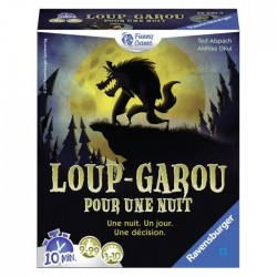 RAVENSBURGER Loup garou pour une nuit - HALLOWEEN