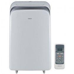 VIVAX ACP09PT25AEF Climatiseur mobile 2500 watts - 8500 Btu - Minuteur - Télécommande - Classe A - Débit : 370