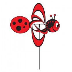 ELLIOT Moulin a vent coccinelle - Turbo Ladybug