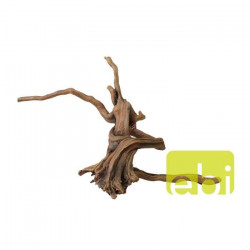 AQUA DELLA Décoration pour aquarium Bois flotté - 34 x 19,5 x 14cm