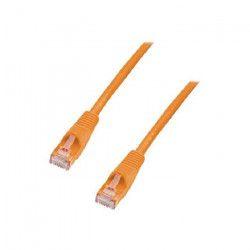 LINDY Câble réseau patch cat.6 U/UTP - Cuivre - 250MHz - 20m - Orange