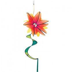 HQ INVENTO Moulin a vent fleur - Flower Swinging - Jaune gradient