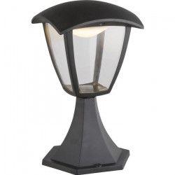 Globo Lighting Borne extérieure aluminium fonte noir - Plastique translucide - IP44