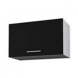 OBI Meuble hotte L 60 cm - Noir mat